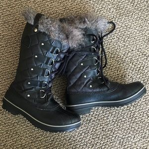 Sorel Tofino 1 Black Winter Boots  7.5